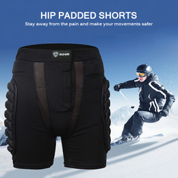 Discount ski hip pad Protective Shorts Men Skating Sports Skiing Overland Racing Armor Pads Hips Legs Sport Pants for Outdoor Snowboarding Sp