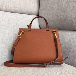 credit card pocket lights UK - Good quality Marmont classic lady tote bag designer briefcase business casual style detachable leather shoulder strap credit card holder