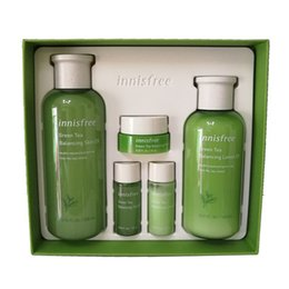 Innisfree Green Tea Balancing Skin Care Set EX 4 in 1 2019 version on Sale