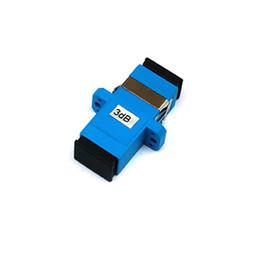 Sc fiber online shopping - 20 Piece SC Fixed Flange Fiber Attenuator dB dB dB dB SM Single Mode Simplex
