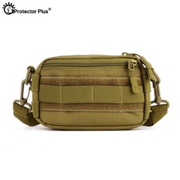 Molle systeM pouches online shopping - PROTECTOR PLUS Mini Molle Pouch inches Phone Tactical Dump fishing camping Crossbody Molle System Portable Shoulder Sling
