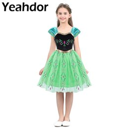$enCountryForm.capitalKeyWord Australia - Kids Girls Short Puff Sleeves Sweetheart Neckline Princess Dress Halloween Costume Cosplay Theme Party Dress Role Play Dress Up SH190719