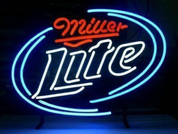 "tavern sign Australia - 17""x14"" Miller Lite BEER BAR PUB TAVERN WALL DECOR LAMP ADVERTISING NEON LIGHT SIGN"