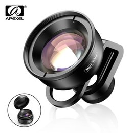 Camera optiCs online shopping - Apexel Hd Optic Camera Phone Lens mm Macro Lens x Super Macro Lenses For Iphonex Xs Max Samsung S9 All Smartphone J190704