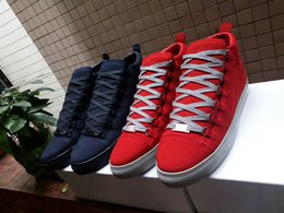 Cheap Leisure Shoes For Men Australia - Cheap red bottom sneakers for men Luxury black suede with Spikes fashion casual mens womens shoes ,2016 Designer leisure trainers footwear13