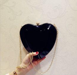 $enCountryForm.capitalKeyWord Australia - Wholesales summer Bag female 2019 new patent leather heart-shaped love bag hand holding shoulder diagonal cross on the new fairy fashion ins