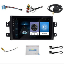 car touchscreen Canada - Car Radio for 2006-2012 SX4 Android 8.1 9 Inch 2Din HD Touchscreen GPS Multimedia Player Support Bluetooth WIFI