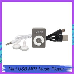 tf mp3 player green Australia - New Arrival Clip Mini USB MP3 Music Media Player Micro SD TF Card Up to 16GB Bluetooth MP3 MP4 for Car