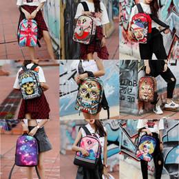 Backpack flag print online shopping - Teenager Student Shoulders Backpack Design Kids High Quality Cartoon Schoolbag Student Multi Function Flag Pritned Travel Storage Bag