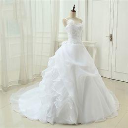 $enCountryForm.capitalKeyWord UK - New one shoulder wedding dresses sleeveless flower decoration applique sexy back design skirt bohemian cheap wedding dress bridal gowns