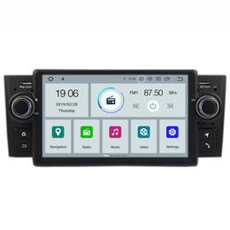 Radio Gps Australia - COIKA Android 9.0 System Quad Core Car DVD GPS Navi Radio For Fiat Linea Grande Punto 2007-2013 Auto Radio Stereo WIFI 4G OBD DVR