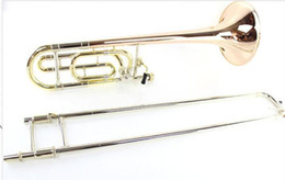 United States BACH 36BO Trombone drop B tone change tune Phosphorus Copper Professional musical instrument free shipping on Sale