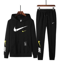 Wholesale mens camp pants resale online – NEW set sweatsuit Designer Tracksuit Women Men hoodies pants Mens Clothing Sweatshirt Pullover Casual Tennis Sport Tracksuits Jogging Suits