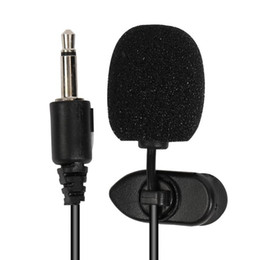 $enCountryForm.capitalKeyWord Australia - Best selling Car Wired 3.5mm Stereo Jack Mini Car Microphone External Microphone PC DVD GPS Player Radio Audio