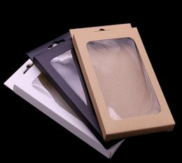 Wholesale Universal Retro Kraft Brown Paper Retail Package packing Box boxes for phone case iPhone 12 mini 11 Pro Max XS XR 7 8 6 Plus