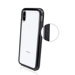 Wholesale FASHION Transparent mobile phone case in shockproof hard PC transparent iphone case back cover iPhone X Xr Xs Max S Plus