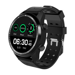 Smartwatch Gps Wifi Camera Australia - KC03 4G RAM 1GB ROM 16GB Android 6.0 1.3 Inch IPS LCD Smart Watch 2.0mp Camera GPS WIFI Bluetooth Smartwatch