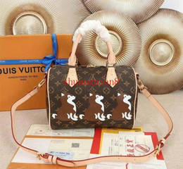 Cartoon Popular Australia - Shoulder Bags Handbag Fashion Women Boston Ladies Crossbody Tote Unique Popular Cartoon style off-w1688