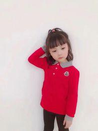 Polo Coats Australia - British fashion trademark M children lapel casual pure cotton POLO long sleeve Hoodies & Sweatshirts coat