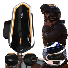 "Chinese  ""QTBE6 Motorcycle Helmet Intercom Headphones Wireless Intercom Handsfree Waterproof FM Radio Headset Motorcycle Headphone "" manufacturers"
