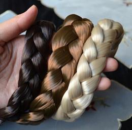 $enCountryForm.capitalKeyWord Australia - 2.5cm wide New Arrival freeshipping fashion bohemian wigs braid thick wide headband popular fashion hair accessories