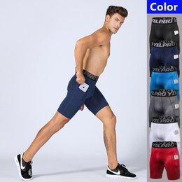 $enCountryForm.capitalKeyWord Australia - Men Fitness Compression Shorts Pockets Sports Running Gym Stretch Tights Quick Dry Training Shorts