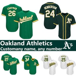 833a99c29b3 Henderson jersey online shopping - Custom Oakland jerseys Matt Chapman  Rickey Henderson Jose Canseco Khris Davis