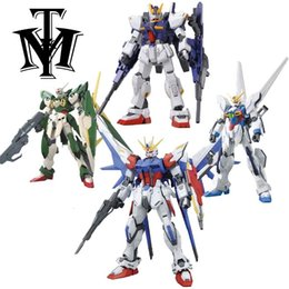 hot wings toys Australia - Anime Gaogao 13cm HG 1 144 Wing am Fenice XXXG-01WF model hot kids toy action figuras assembled Phoenix Robot puzzle gift SH190910