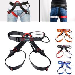 Опт Открытый кемпинг альпинистские ремни безопасности сиденье скалолазание скалолазание инструмент с сумкой