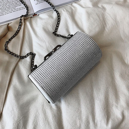 $enCountryForm.capitalKeyWord Australia - Luxury Glitter Sequins Crossbody Shoulder Bag Women PU Leather Handbags 2019 mini ladies party purse Casual Female Chain Bags