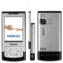 unlocked 2gb mp3 player Australia - Original Nokia 6500S 3.2MP Camera Bluetooth MP3 Player 3G Support Multi-Languages Unlocked 6500 Slide Refurbished Phone