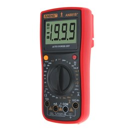 Discount earth balls - ANENG AN881B+ Digital Multimeter esr meter multimetro power meter battery tester current usb tester voltmeter earth