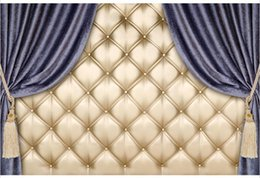 $enCountryForm.capitalKeyWord UK - 7x5FT Dark Color Curtain Tufted Leather Wall Diamonds Buttons Custom Photo Studio Backdrop Background Vinyl 220cm x 150cm