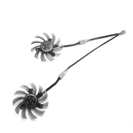 75mm cooler fan UK - New 75MM DIY APISTEK GA81S2U GA81O2U 40mm Cooler Fan Replacement For ZOTAC GTX 660Ti 650Ti BOOST 970 Graphics Card Cooling Fan