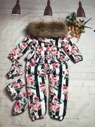 $enCountryForm.capitalKeyWord NZ - kids clothing Set Floral Suit With Cap Outfits Baby Sets Long Sleeve Children Animal hoodies pants kids coat jacket tracksuit kids clothes