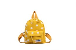 korean style men school bags 2019 - Children's Bags 2019 Korean-style Spring Stylish Cute Speckled School Bag Fashion Casual Adorable Baby Versatile Sh