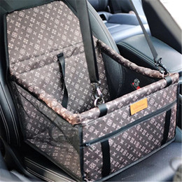 Dogs For Small Houses Australia - 1pc Pet Dog Carrier Waterproof Car Rear Back Seat Pad Mat Cat Puppy Travel Protector House Kennel for Dog Puppy Cat Pet Products