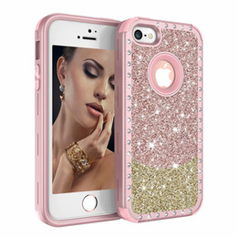 Iphone 5s case for women online shopping - For Iphone SE Case Luxury Diamond Women Cover Heavy Duty Hybrid Full Body Protective Cover Defender Case For iPhone S SE