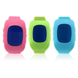 sos smart watch for kids NZ - Q50 Smart Child Watch OLED Screen GPS Tracker SOS Call Anti Lost Monitor Pedometer Phone Call Wristwatch for Kids Children GIFTS