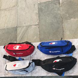 $enCountryForm.capitalKeyWord NZ - New C Letter waist bag 4 Colors boy girl messenger bag Handbags Single shoulder Canvas Trendy leisure sports bag TJY622