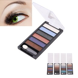 nude strips NZ - Best 6 color Eyeshadow Strip Palette Pearlescent Matte Nude-border Makeup QQ99