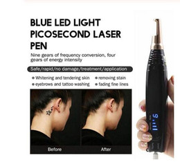 cicatrizes New atualizado Remoção Neatcell poiniter Laser de picossegundos Pen tatuagem Mole Mancha Escura Pigment Acne removedor beleza máquina em Promoção