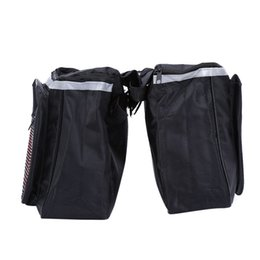 Bicycle Rear Carriers Australia - New Arrival 25l Cycling Bicycle Bike Rack Back Rear Seat Tail Carrier Trunk Double Pannier Bag Back And Red High Quality