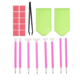 China DIY Diamond Painting Tools 5D Diamond Painting Cross Stitch Embroidery Pen Tools Glue Pen Kit Tweezers Accessories supplier glue diamond accessories suppliers