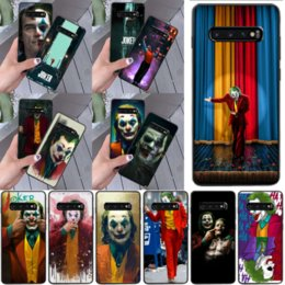 cute samsung s5 cases NZ - 2020 Joker movie Bling Cute Phone Case for Samsung S9 plus S5 S6 edge plus wholesale