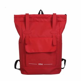 $enCountryForm.capitalKeyWord NZ - Brand New Mens Backpack Womens Designer Bags Teenager Black Red Basketball Backpacks Outdoor Fashion Student Backpack