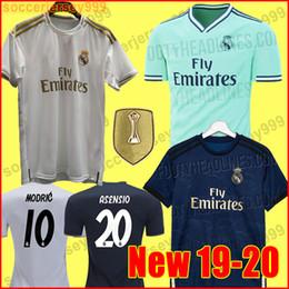 2b4e8bf5ac2 TOP Real madrid Jerseys EA sports 2019 2020 Isco soccer jersey SERGIO RAMOS  MODRIC BALE football shirt 19 20 camisetas uniforms