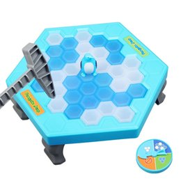 $enCountryForm.capitalKeyWord Australia - Ice Breaking Save The Penguin Kids Fun Board Game Table Fidget Breaker Bricks Toy Gags Practical Jokes Puzzle Toys For Childre