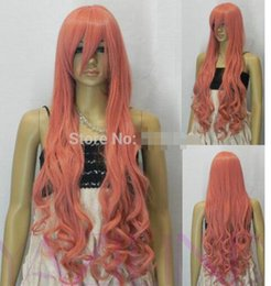 Ladies Long curLy hair online shopping - women long curly wavy layered loose hair wig lady cosplay party wig heat resist