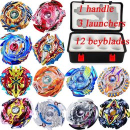 $enCountryForm.capitalKeyWord NZ - 52 Designs 12in1 Suitcase Beyblade Clash Metal 4D Beyblades Set With Suitcase Beyblade Burst Spinning Tops Boys Kids Toys Beyblade Burst